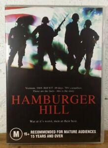 Hamburger Hill DVD Vietnam 1969 War Movie 1987 Don Cheadle REGION 4