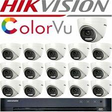 HIKVISION COLORVU 16CH Kit 8CH 4K 5MP CCTV SYSTEM HD DVR UHD HIKVISION CCTV KIT