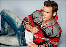 Chris Pratt Modelling Giant Poster - A0 A1 A2 A3 A4 Sizes Available