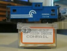 N SCALE CON-COR CONRAIL EXTENDED VISION CABOOSE OB