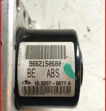 PEUGEOT 207 CITROEN C2 C3 ABS PUMP 9662150680 10.0207-0077.4 ECU:10.0970-1126.3