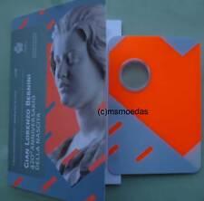 San Marino 2 Euro 2018 Bernini CoinCard Münzkarte leer empty ohne Münze