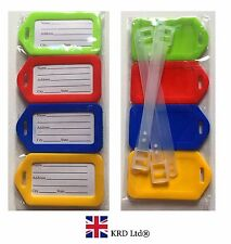 Set of 2 Seals Luggage Tags Suitcase Labels Bag Travel Accessories