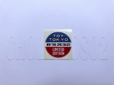 STICKER REPLACEMENT TOY TOKYO NYCC 2017 LIMITED EDITION  FUNKO POP
