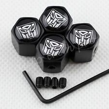 Anti Theft Car Wheel Tire Tyre Valve Cap Air Dust Cover For Transformers Autobot