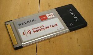 Belkin F5D7010 Wireless G Notebook Card PCMCIA