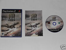 REBEL RAIDERS OPERATION NIGHTHAWK for PLAYSTATION 2 'VERY RARE & HARD TO FIND'