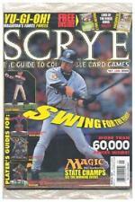 Sealed January 2004 SCRYE Magazine #67  (/w Bagon Pokemon Promo & DBZ New 3DY