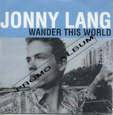 CD Jonny Lang	Wander This World French Promo Album Card Sleeve NEW SEALED