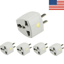 Universal EU UK AU to US USA AC Travel Power Plug in Adapter Converter Charger
