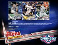 2017 Topps Opening Day Baseball Complete Your Set Pick 25 Cards From List