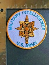 Us Army Military Intelligence Branch Patch