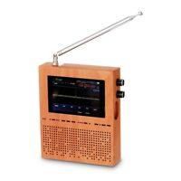 50KHz-2GHz Malachit Dsp Sdr Radio Malahit Empfänger Rauschminderung + Holz Tool