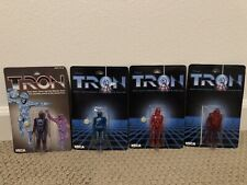 NECA Tron 20th Anniversary 4 Figures- All Brand New & Sealed!