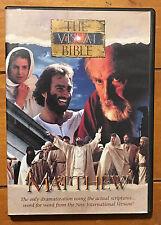 Matthew: Visual Bible (DVD, 2004) Rare OOP Free US Shipping