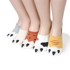 Kitty Cats Paw kitten Socks (Pack of 5Pairs) MADE IN KOREA women girls noshow BP
