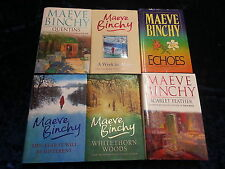 6 BOOKS by MAEVE BINCHY ** HARDBACKS WITH D/W publ by ORION ** FREE UK P&P