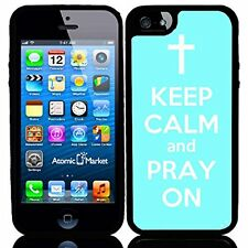 Baby Blue Keep Calm and Pray On For Iphone 6 Case Cover
