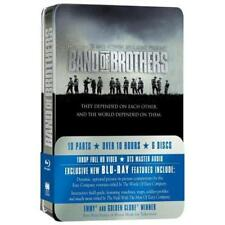 Band Of Brothers The Complete Series Season Collectable Tin NEW  Blu-ray RegB