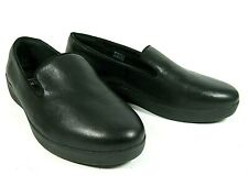 FitFlop Women's Shoes Loafers Black Leather Audrey Comfort Casual 9M