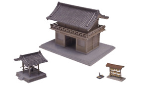 Tomytec Building Collection 029-2 Temple B2 Tower Gate (N scale)