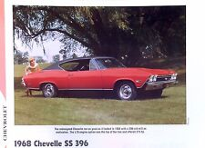1968 Chevrolet Chevelle SS 396 ci 325 350 375 hp info/specs/photo/prices 11x8