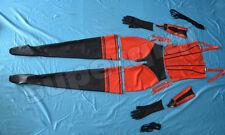 NEW 100% Latex Rubber Gummi Catsuit Ganzanzug Handschuhe Socken Korsett Shorts