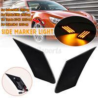 2x LED Side Blinker Signal Light For Subaru BRZ GT86 FT-86 Scion FR-S 2013-up