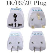 AU/UK/US/EU Mini White Charger Conversion Plug Socket Converter Adapter Travel