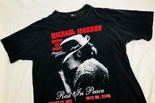 Rare Michael Jackson King Of Pop R.I.P 1958-2009 T Shirt Size Mens Large