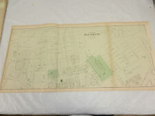 1873 Antique COLOR Map of Long Island, NY///PART OF FLUSHING, NY