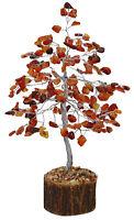 Carnelian Stone Tree Reiki Spiritual Feng Shui Gems Vastu Table Decor