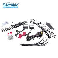 Flexibel LED Tagfahrlicht Set, E4 & R87 Modul 20 High Power SMD LEDs, Xenon Weiß