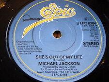 """Michael Jackson-elle est Hors de ma vie 7"""" vinyl"""