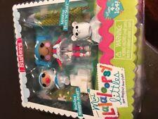 NEW Mini Lalaloopsy Littles Sisters Bundles Snuggle Stuff Mittens Fluff N Stuff