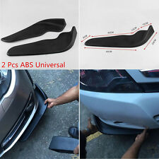 2 Pcs Universal Car SUV Bumper Spoiler Front Shovel Decorative Scratch Resistant