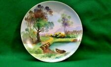 """Vintage~Shofu China 7 1/2"""" Porcelain Plate~Hand Painted~Occupied Japan - Signed"""