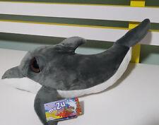 MY ZHU SEA FRIENDS DAPHNE DOLPHIN PLUSH TOY! CUTE! BIG EYES! 33CM LONG