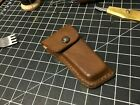 Ready to Ship. Leather case for Veritas miniature shoulder plane. Case Only,