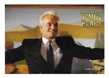 TWIN PEAKS GOLD BOX POSTCARD #31 RAY WISE AS LELAND PALMER POST CARD