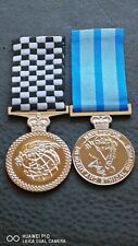 POLICE OVERSEAS SERVICE MEDAL, NSW POLICE DILIGENT AND ETHICAL SERVICE MEDAL