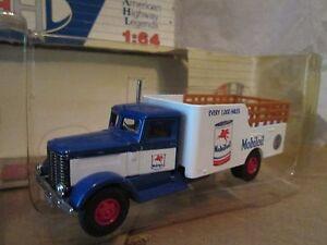 Peterbilt 260 mobil oil  delivery truck American Highway Legend 1/64 Hartoy AHL
