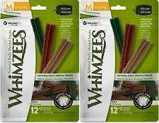 New listing (2 Pack) Whimzees Stix Grain-Free Dental Dog Treats, 14 Medium Each