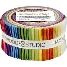 """Maywood Jelly Roll ~  Shadow Play  ~  Natural ~  2 1/2"""" Strips~ 100% Cotton"""