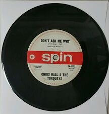 CHRIS HALL and THE TORQUAYS Don't Ask Me Why Vinyl single 45 RARE