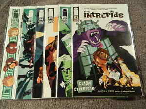 2011 IMAGE Comics THE INTREPIDS #1-6 Complete Limited Set - Mad Scientist VF/NM