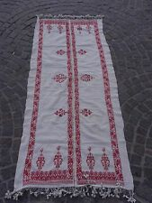 PALESTINIAN PALESTINE EMBROIDERY ANTIQUE TRADITIONAL ARABIC FABRIC #