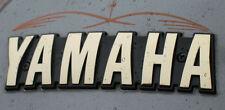 XS1100 Yamaha OEM Fuel Gas Tank Gold Badges-Emblem-Screws-XS11-F_G_SG_LG_H_SH_LH