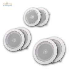 Einbaulautsprecher 1 Paar, weiß 8 Ohm, 8/10/20W, Fullrange Dualcone Lautsprecher
