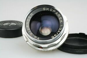 SKOPAREX 1 : 3,4 / 35 mm + Caps; very nice VOIGTLÄNDER Bessamatic MOUNT Lens